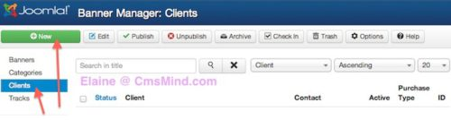 Joomla 3.0 Tutorial - Insert Banner in Joomla - Add New Banner Client