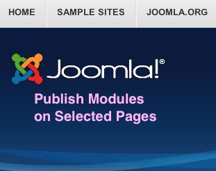 joomla 3 tutorial publish modules on selected pages title Joomla 3.0   How to Publish Modules on Selected Pages