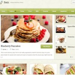 Thumbnail image for Make a Recipe Website with WordPress Theme – Petit