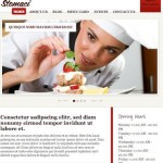 Click to visit Cafe / Restaurant Template with Online Reservations
