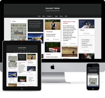 free tumblr clone responsive design infinite scroll wordpress theme gallery Free Tumblr Wordpress Theme   Gallery