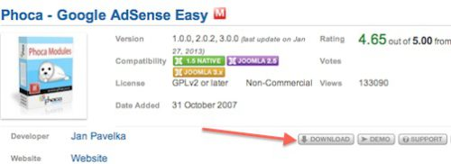 joomla 3 add adsense to joomla website module 1 Joomla 3.0 Tutorial   How to Add Adsense to Joomla Website