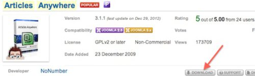 joomla 3 how to add articles to modules 1 Joomla 3.0   How to Insert an Article in a Module?
