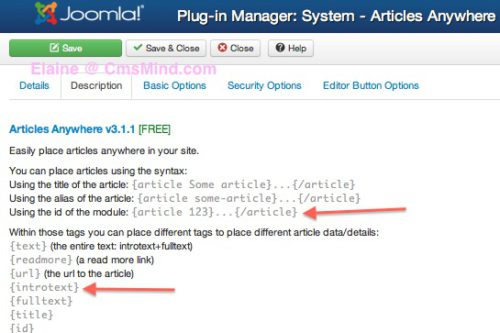 joomla 3 how to add articles to modules 4 Joomla 3.0   How to Insert an Article in a Module?