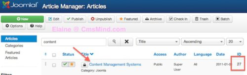 joomla 3 how to add articles to modules 5 Joomla 3.0   How to Insert an Article in a Module?