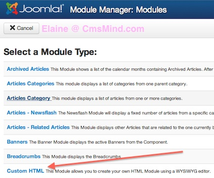 joomla 3 how to add articles to modules 6 Joomla 3.0   How to Insert an Article in a Module?
