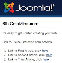 Joomla 3.0 - How to Link to Another Article in Joomla