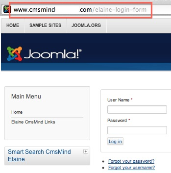 joomla 3 menus add new hidden menu 6 Joomla 3.0 Tutorial   How to Create a Hidden Login Form