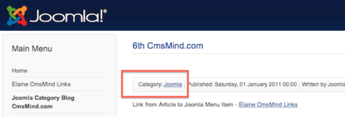joomla 3 tutorial Remove category name from article 1 Joomla 3.0 Tutorial   How to Remove Category Name From Article
