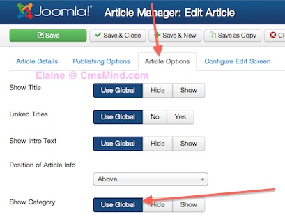 joomla 3 tutorial Remove category name from article 4 Joomla 3.0 Tutorial   How to Remove Category Name From Article