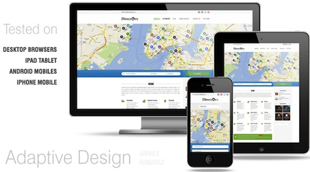 responsive geo theme directory template wordpress theme directory 2 Best Geo Themes