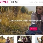 Click to visit Responsive Photo Blog & Media Rich Magazine Wordpress Theme - Style