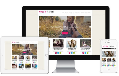 responsive magazine template wordpress theme syle 3 Cost to Make a Responsive Photo Blog with Wordpress   Style
