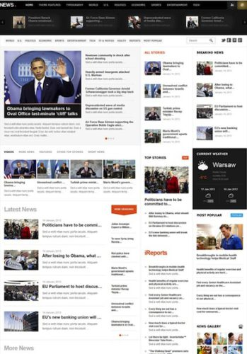 Magazine & News WordPress Theme - News
