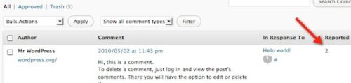 Monitor Comment Reports - Safe Report Comments Free WordPress Plugin