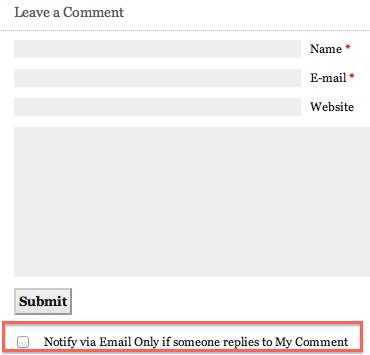 wordpress send email only on my comments free plugin 5 Send Email When Reply to My Comment in Wordpress