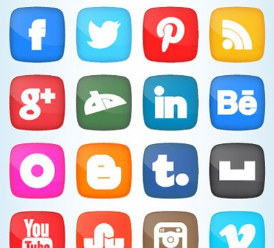 2013 social media icons fat Best of 2013 Free Social Media Icons for Bloggers