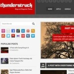 Click to visit Responsive Magazine Wordpress Theme - ThunderStruck