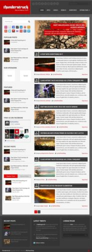 Download Responisve Thunderstruck Magazine WordPress Theme Mythemeshop Cost to Create Site with Responsive Magazine Wordpress Theme   Thunderstruck