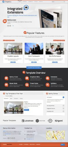 Responsive Business Joomla 3.0 Template Chapelco 2 Best Business Themes