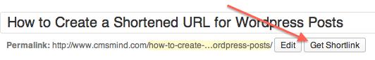 Wordpress Tutorial create shortened url for wordpress post get shortlink How to Create a Shortened URL for Wordpress Posts