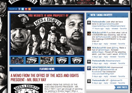 Impact Wrestling News Website uses Joomla