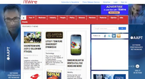 it wire magazine website businesses using joomla 18 30 Businesses Using Joomla For Their Website