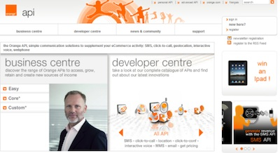 Orange Telecom Uses Joomla for website