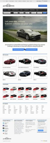 responsive autotrader clone wordpress theme car classifieds automotive Create a Site like AutoTrader with Wordpress   Automotive