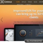 Click to visit Responsive Business Portfolio Wordpress Theme - Conexus