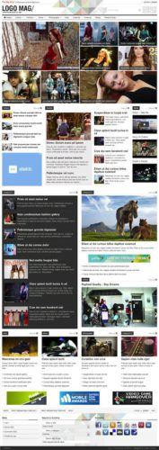 responsive magazine news wordpress theme patterns 3 Cost to Make a Site with Magazine Wordpress Theme   Patterns