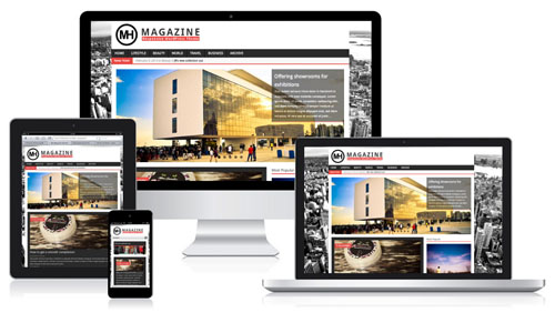 Features of Responsive Magazine WordPress Theme - MH Magazine