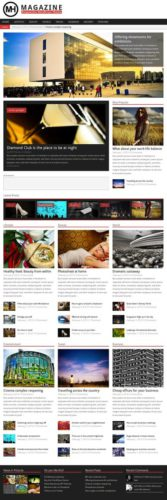 Responsive Magazine WordPress Theme - MH Magazine