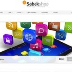 Click to visit Online Store & Business Portfolio Wordpress Theme - Sabak Store