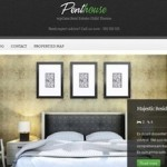 Click to visit Responsive Real Estate Template Wordpress Theme - Penthouse