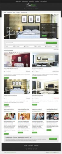 responsive real estate site like mls wordpress theme penthouse Best Real Estate Themes
