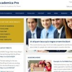 Click to visit Responsive School, University, College Wordpress Theme - Academica Pro