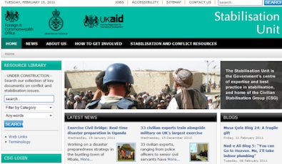 U.K. Ministry of Defence uses Joomla for website