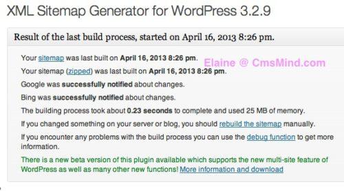 XML Sitemap created using Google XML Sitemaps WordPress Plugin