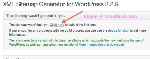 create xml sitemap google xml sitemap wordpress plugin generate 4 How to Create an XML Sitemap in Wordpress
