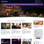 Click to visit Responsive Hotel Wordpress Theme - 5 Star