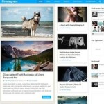 responsive Pinterest inspired wordpress theme pinstagram 2 150x150 Website Clones and Templates