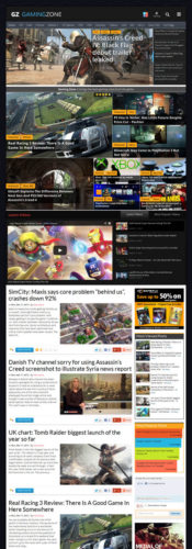 responsive game review magazine news wordpress theme gamingzone magazine Create a Game Review Magazine Site with Wordpress   GamingZone