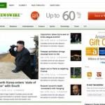 Responsive News WordPress Theme Newswire