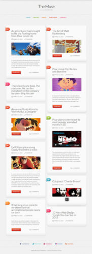 responsive tumblr like microblogging wordpress theme the muse Cost to Make a Tumblr Like Site with Wordpress   The Muse