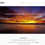 retina ready responsive portfolio wordpress theme galao 2 150x150 Website Clones and Templates
