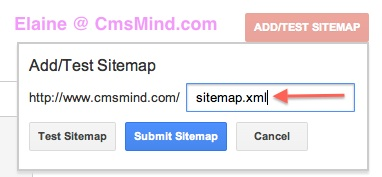 submit xml sitemap to google webmaster tools submit sitemaps 8 How to Submit XML Sitemap to Google Webmaster Tools