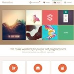 Click to visit Modern & Professional Portfolio Wordpress Theme - MetroVibes