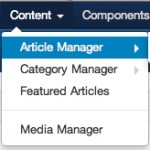 joomla 3 1 1 content article manager 150x150 Joomla 3 Tutorial   How to Really Delete an Article in Article Manager