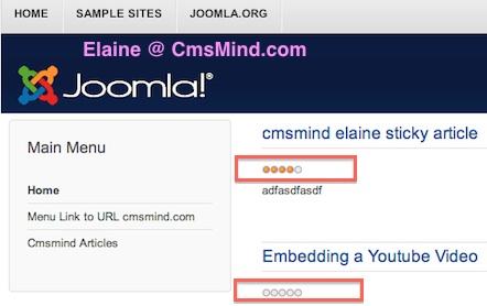 Joomla 3.1.1 Tutorial - Article Voting